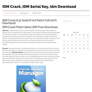 IDM Crack 6.37 build 8 Incl Patch Full Latest Download {100- Working}