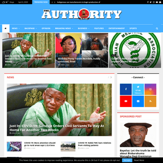 Home - THE AUTHORITY NEWS