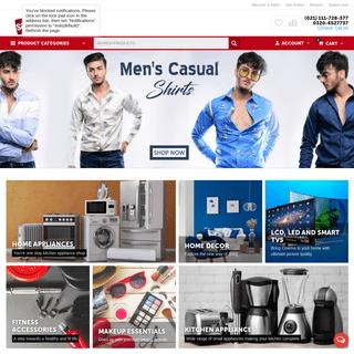 Online Shopping in Pakistan - TV, AC, Mobiles & Fashion - Savers.pk