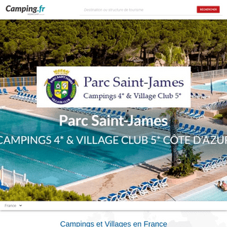Camping France, Camping en France Emplacements pour Tentes et Camping-cars