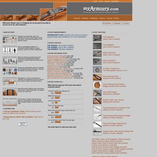 Home Page -- myArmoury.com