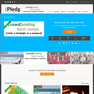 ArchiveBay.com - ipledg.com - » iPledg » Crowd Funding Creative, Commercial, Charitable, & Community Projects