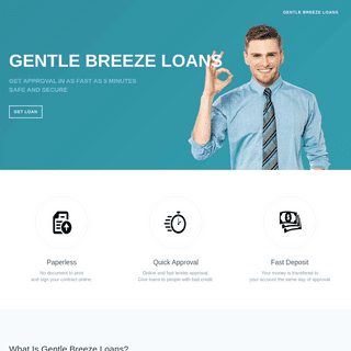 Gentle Breeze Loans - Get Cash Advance 24-7