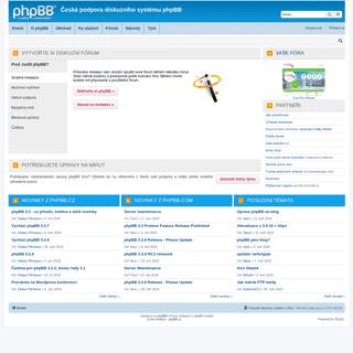 phpBB.cz - Česká podpora diskuzního systému phpBB