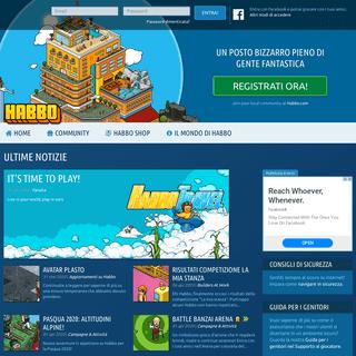 ArchiveBay.com - habbo.it - Conosci nuovi amici, divertiti, fatti notare! - Habbo