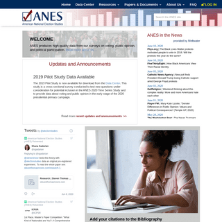 Home - ANES - American National Election Studies