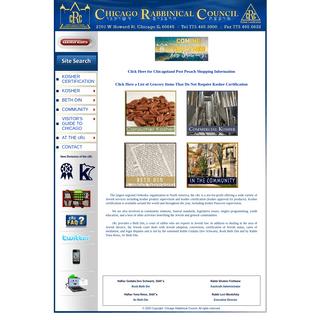 cRc-Chicago Rabbinical Council