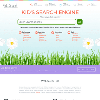 Kids Search - Safe Search Engine