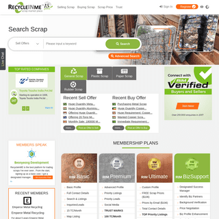 ArchiveBay.com - recycleinme.com - RecycleInMe – Scrap Metal Dealers - Current Scrap and Metal Prices