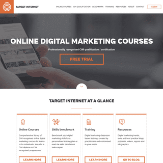 ArchiveBay.com - targetinternet.com - Online digital marketing courses, qualifications and certification - training - elearning
