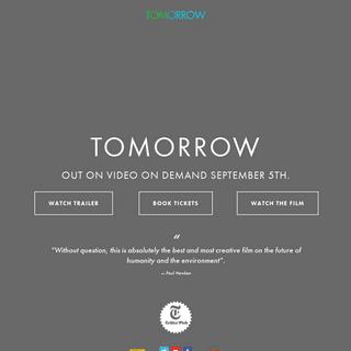 A complete backup of tomorrow-documentary.com