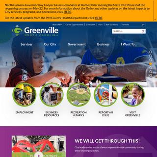 ArchiveBay.com - greenvillenc.gov - Greenville, NC - Home