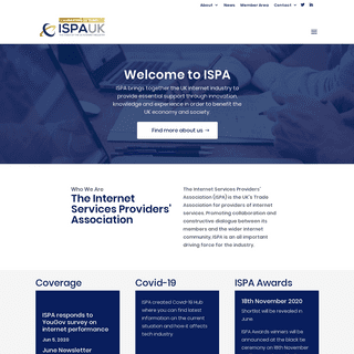 The UK's Trade Association for providers of internet Services - ISPA