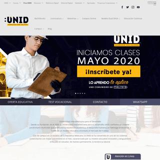 ArchiveBay.com - unid.edu.mx - UNID - Universidad Interamericana para el Desarrollo