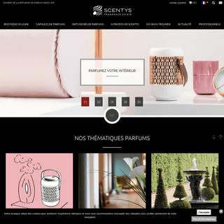 Scentys - Créateur et expert de la diffusion de parfum dans l'air