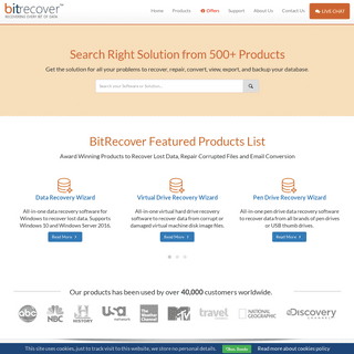 BitRecover Software Data Recovery Company - Recovering Lost Data & Files
