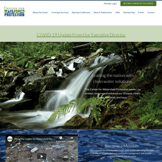 Home - Center for Watershed Protection