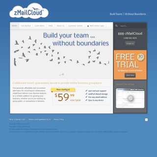 Zimbra Email Hosting and Managed Dedicated Servers - zMailCloud