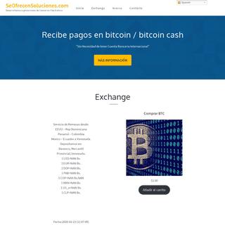 SeOfrecenSoluciones.com – Desarrollamos aplicaciones de Comercio Electrónico