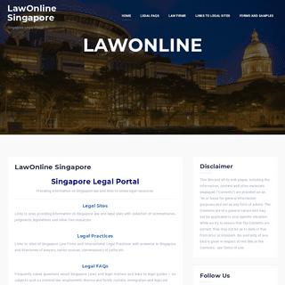 LawOnline Singapore - LawOnline Singapore