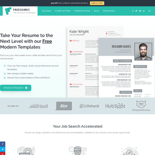 A Prime Destination for Professional Resume Templates - Freesumes