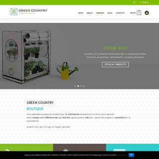 Green Country- growshop, urban gardening e prodotti bio a Milano