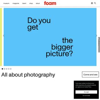 Foam- All about photography - Foam Fotografiemuseum Amsterdam