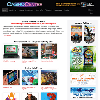 Casino Player Magazine - Strictly Slots Magazine - Casino Gambling Tips – Life's a Gamble. Win It.