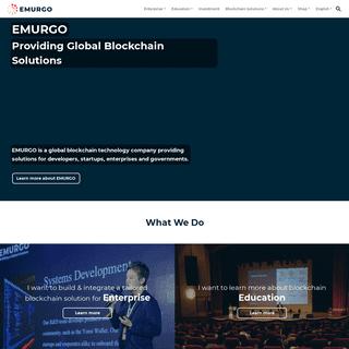ArchiveBay.com - emurgo.io - EMURGO - Providing Global Blockchain Solutions