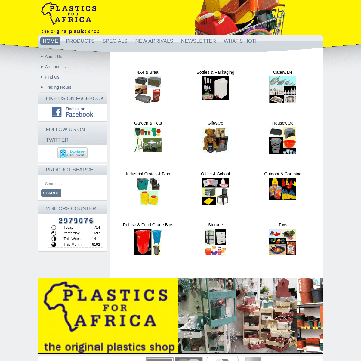 Welcome to Plastics for Africa