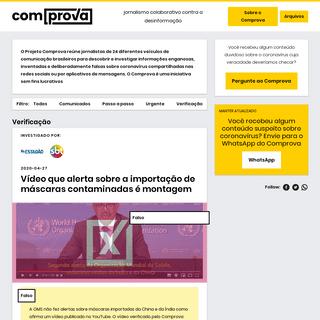 ArchiveBay.com - projetocomprova.com.br - Home - Projeto Comprova