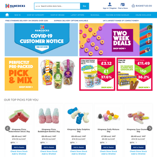Hancocks Cash & Carry - Wholesale Sweets & Confectionery