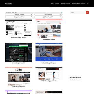 WebLyb Blogger Templates, WordPress themes and many More