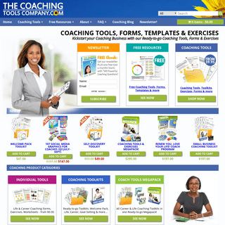 Coaching Tools, Forms, Templates & Exercises - The Coaching Tools Company.com