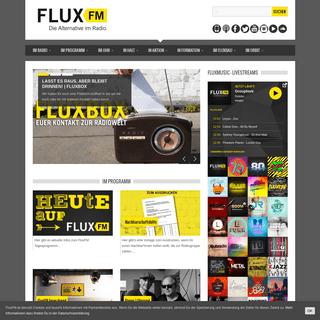 » FluxFM - Die Alternative im Radio.