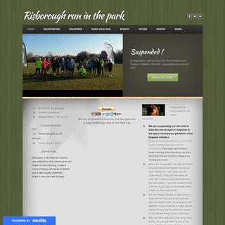 Risborough run in the park - Risborough run in the park