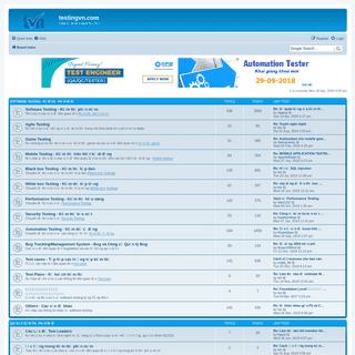 Index page • testingvn.com
