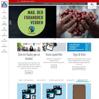 ALDI Danmark - kvalitet, bæredygtighed og lave priser - startside