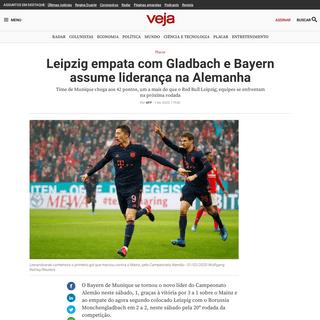 ArchiveBay.com - veja.abril.com.br/placar/leipzig-empata-com-gladbach-e-bayern-assume-lideranca-na-alemanha/ - Leipzig empata com Gladbach e Bayern assume liderança na Alemanha - VEJA