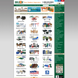 Belson Outdoors® - Site Amenities Made Easy