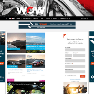 Home - Women on Wheels - Female-driven motoring content!
