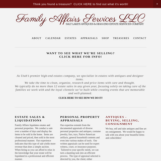 Family Affairs Services LLC