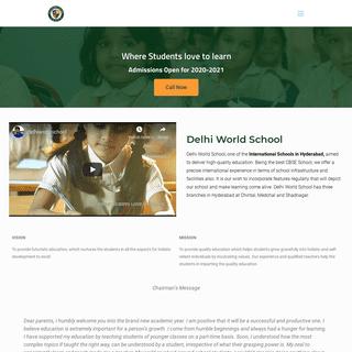 Delhi World School – Chintal I Shadnagar I Medchal