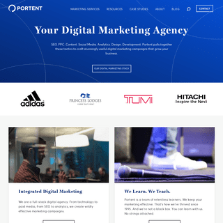 Portent - An Integrated Digital Marketing Agency in Seattle