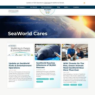 SeaWorld Cares - SeaWorld Entertainment