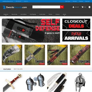 Buy Swords - Knives - Self Defense - Outdoor Gear - Pocket Knives & Medieval Collectibles