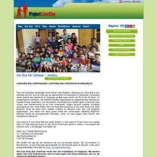 Lion King Bali Orphanage - weeshuis
