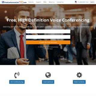 Home - FreeConferenceCallHD.com