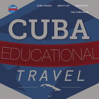 ArchiveBay.com - cubaeducationaltravel.com - Cuba Educational Travel