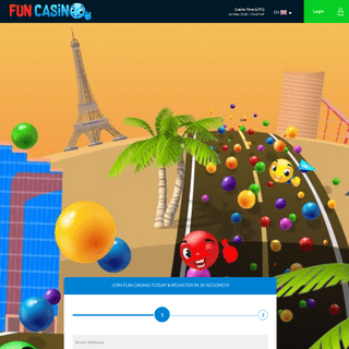 Register here to start your journey full of fun and excitement - Fun Casino